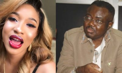 Tonto Dikeh blasts Actor Guild of Nigeria chairman, Ifeanyi Dike