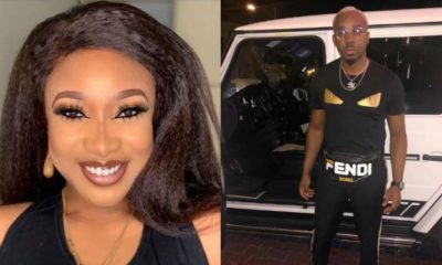 Tonto Dikeh reacts Pretty Mike shares tips on 'How Not To Be A 40 Seconds Man'