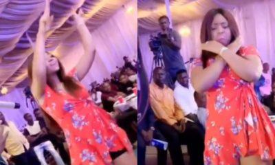 Watch As Regina Daniels Flaunts Baby Bump While Dancing