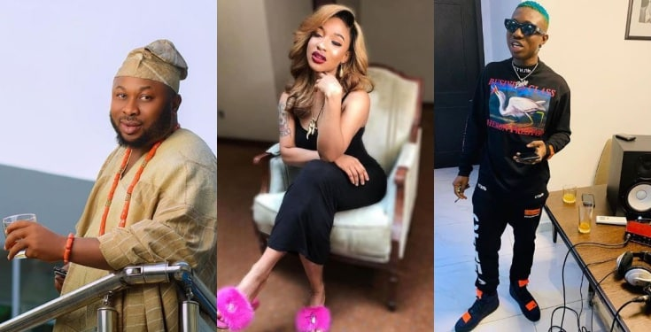 Zlatan Ibile shades Tonto Dikeh's ex, Churchill for lasting 40 seconds in bed