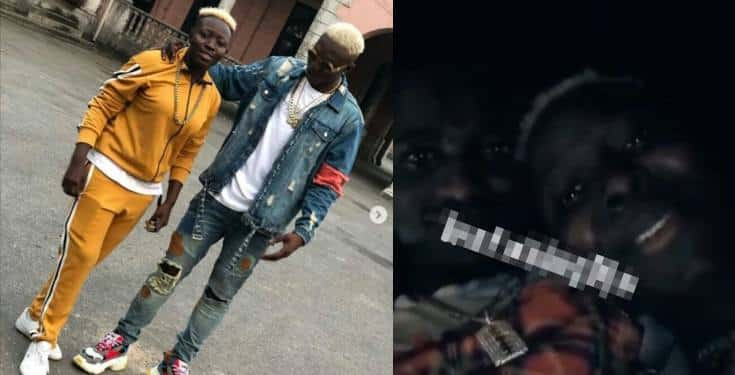 Zlatan Ibile's girlfriend, Seyi begs for his release after arrest by EFCC (Video)