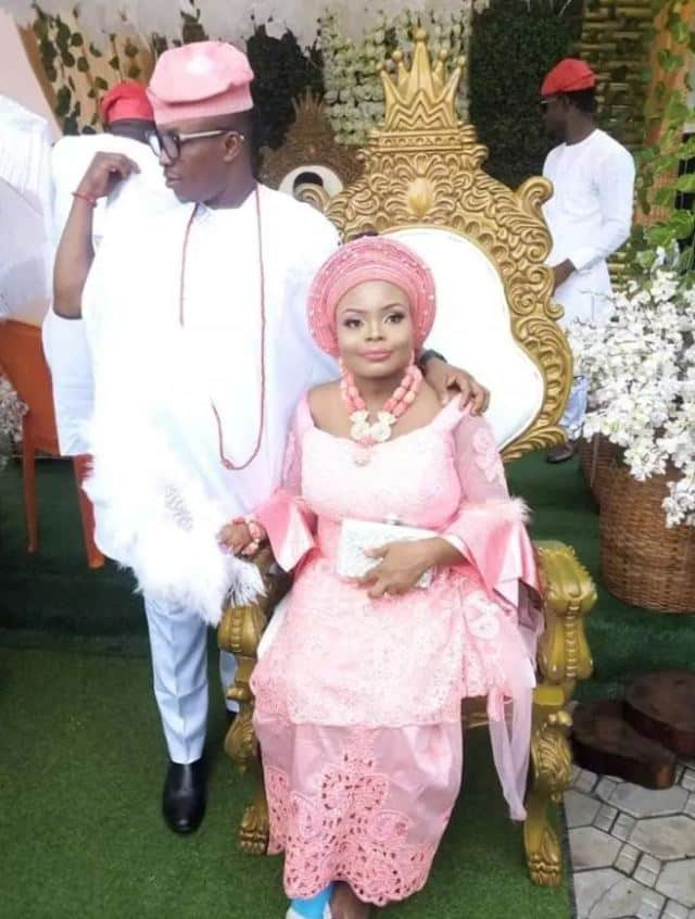 Image result for Nigerian lady weds after surviving a fatal accident few days to her wedding (photos)