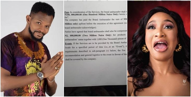 Zikel Cosmetics, Tonto Dikeh, Uche Maduagwu