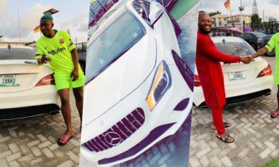 Zlatan Ibile Buys Brand New 35 Million Mercedez Benz Car