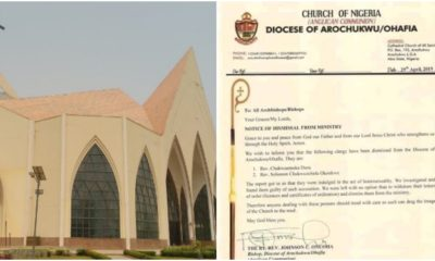 Anglican Church, priest, homosexuality