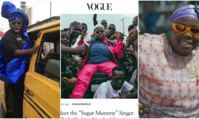Teni entertainer, Teniola Apata, Vogue