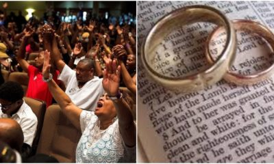 Nigerian man gives tip on how to get a wife in church