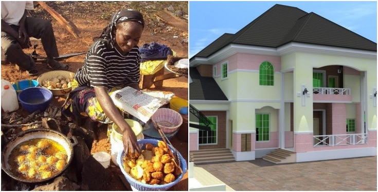 "How A Widowed ""Akara"" Seller Became A Landlord In Lagos - Lady Reveals"