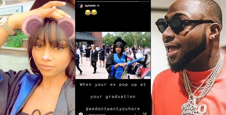 Davido's Baby Mama Amanda Throws Shade As She Shares Graduation Photos