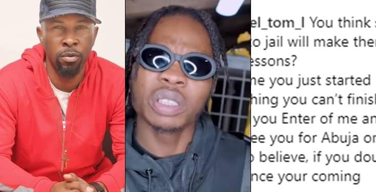 "Nigerian youths threaten Ruggedman with death for speaking against ""Yahoo Yahoo"""