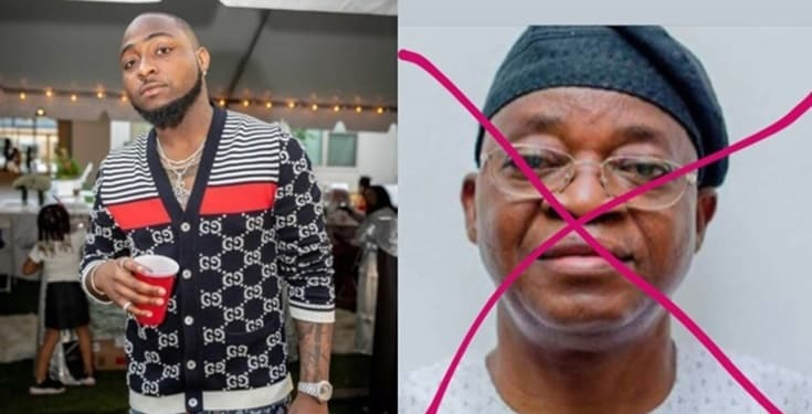 Davido creates new Instagram account to troll on Governor Oyetola