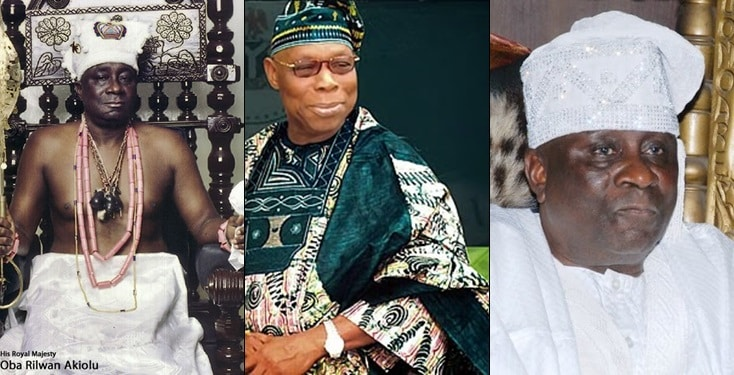 The number one person creating problems in this country is Obasanjo - Oba Akiolu
