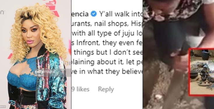 Dencia comes to the defense of carpenter caught burying charms