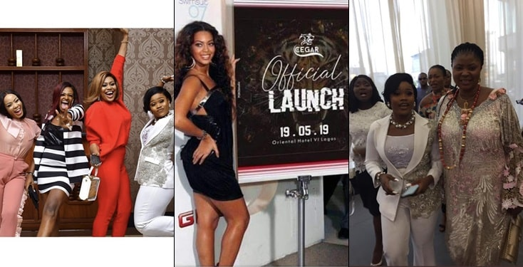 Former housemates,celebs, Okorochas' son and fans storm CeeC's sport wear Launch