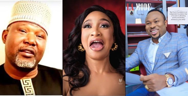 Islamic cleric claims that Tonto Dikeh will never get married again