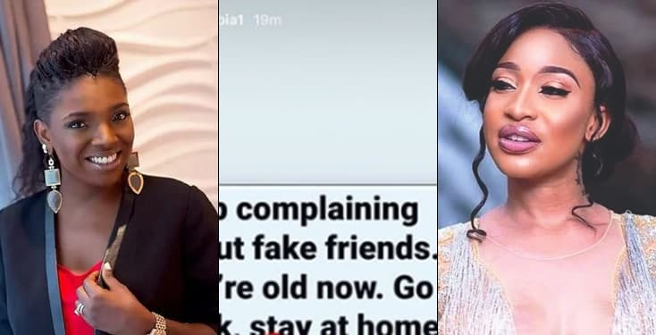 Annie Idibia finally replies Tonto Dikeh