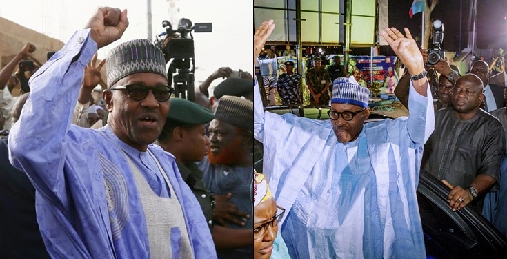 Buhari sworn in for second term as president of Nigeria