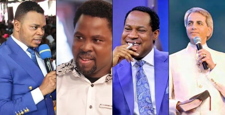 TB Joshua, Pastor Chris, Benny Hinn are my children spiritually– Bishop Obinim