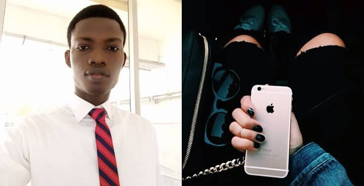 Nigerian man uses house rent to buy iPhone for girlfriend
