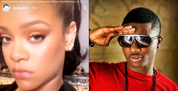 Rihanna Spotted Listening To Wizkid Ojuelegba Song