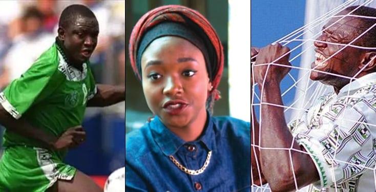 Late Rashidi Yekini's daughter speaks