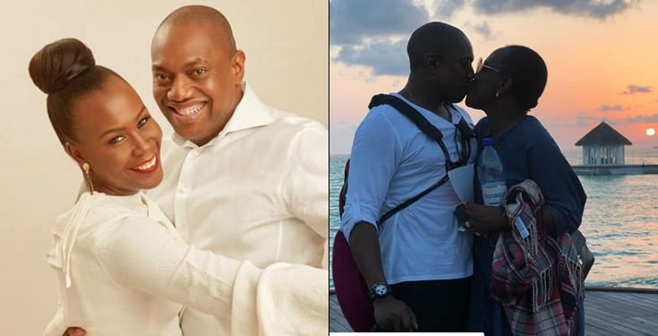Tara celebrates hubby Fela Durotoye  on their 18th wedding anniversary