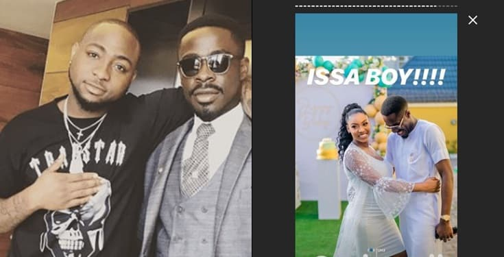 Davido's lawyer and son of jailed businessman Fred Ajudua is expecting a baby boy