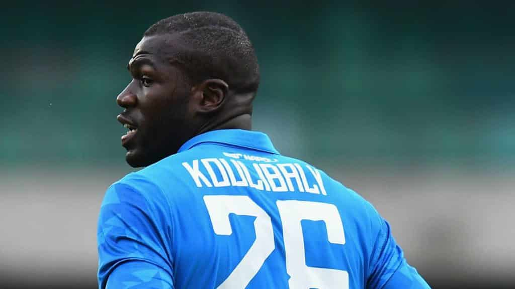 Manchester United's £96m bid for Koulibaly rejected