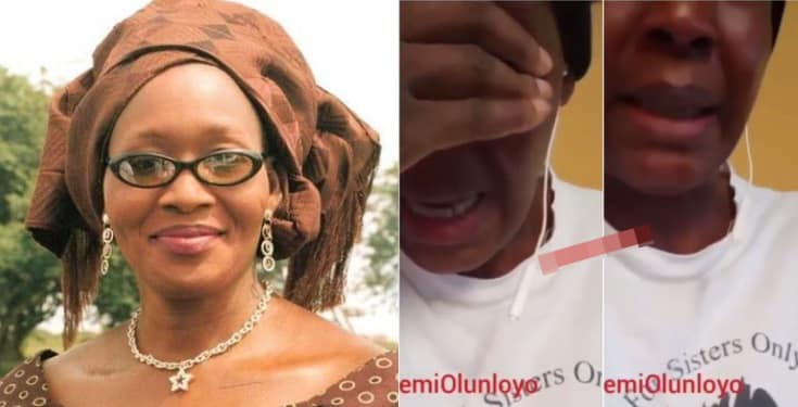 'I will kill myself,' - Kemi Olunloyo threatens (Video)