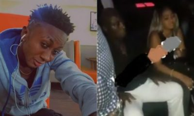 'Stop taking my old father to clubs' – Son of Regina Daniel's husband warns