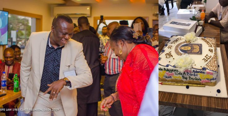 35 years later, man finally gets to dance with the lady that snubbed him in OAU (photos)