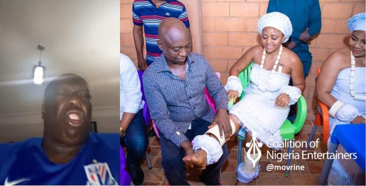 Actor Charles Awurum warns newly wed, Regina Daniels on the repercussion of meeting another man