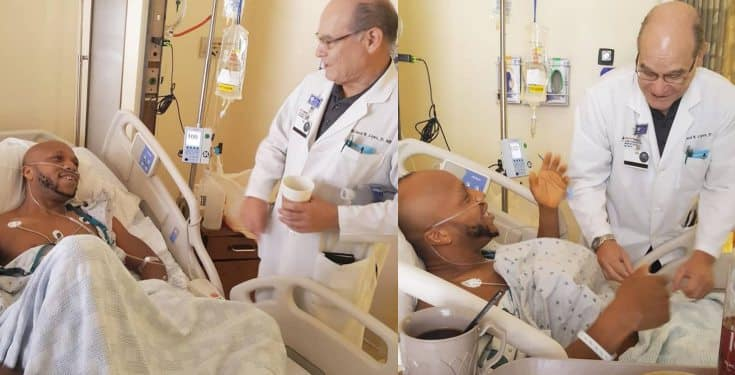 Actor Charles Okocha undergoes a successful emergency surgery in the U.S