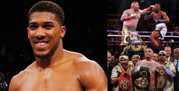 Anthony Joshua To Earn 20 Million Pounds