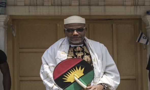 'Anyone who hates Biafra can't make Heaven' - IPOB leader, Nnamdi Kanu