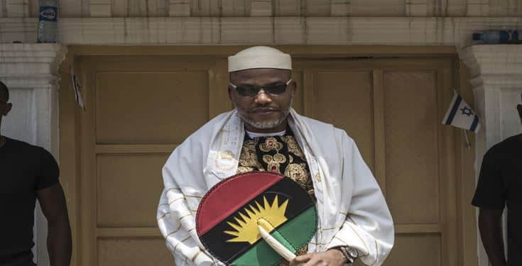 'Anyone who hates Biafra can't make Heaven' - IPOB leader, Nnamdi Kanu