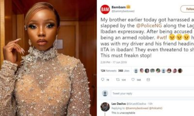 Bambam cries out to stop police brutality as her brother falls victim