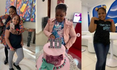 Bisola celebrates daughter on 10th birthday with sweet message (photos)