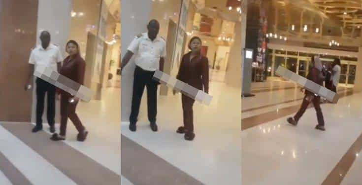 Bobrisky cautions a man harassing him at a hotel in Abuja (video)