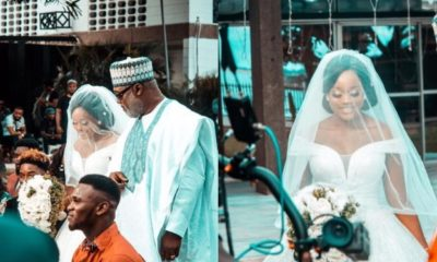 Cee-C wows fans with lovely bride themed photoshoot