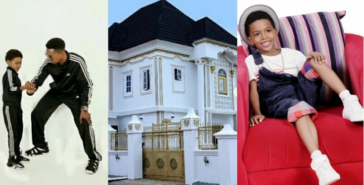 Comedian I Go Die gifts his son a mansion for his 9th birthday (Photos)
