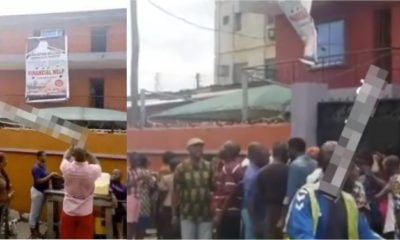 Confusion as 'Church' which helps people double their money scams many In Lagos (Video)