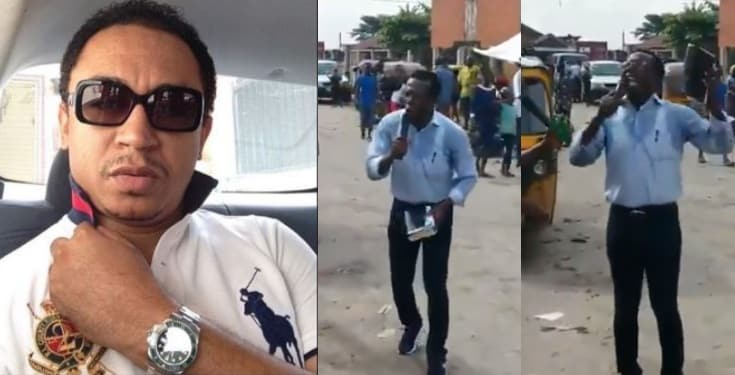 Daddy Freeze reacts to video of billionaire Cosmas Maduka preaching