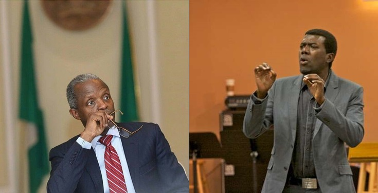 You are a pastor, Stop LYING Osinbajo – Omokri begs vice president