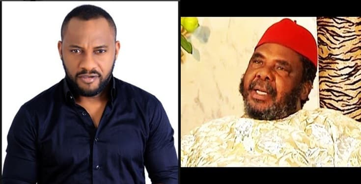 People think I am my father's 'handbag' –Yul Edochie