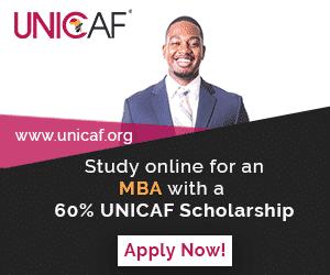 60% UNICAF Scholarship.