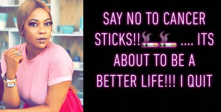 'I just want to live longer' - Yvonne Nwosu reveals she's quiting smoking