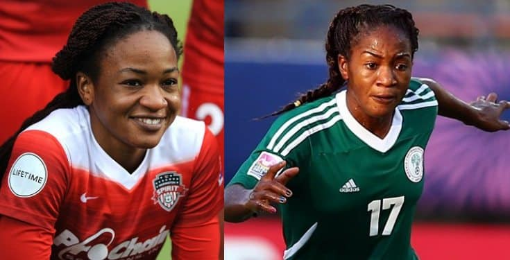 I slapped my ex for looking at another lady – Super Falcons' Ordega