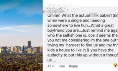 Lady blasts her boyfriend for announcing he's single & looking for a room' to rent
