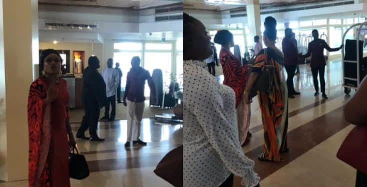 Lady says Bobrisky yelled at her for taking a photo of him unawares